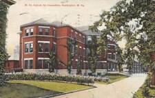 HUNTINGTON, WV ~ ASYLUM FOR INSANE INCURABLES ~ BALTIMORE STATIONERY ~ u. 1910
