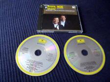 2CD MOZART The 5 Violin Concertos Itzhak Perlman James Levine Vienna Phil DG DGG