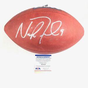 Nick Foles Signed Football PSA/DNA Fanatics Philadelphia Eagles Autographed