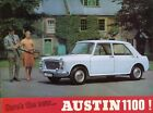 AUSTIN 1100 - Original launch UK sales brochure c1963