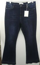 Kancan Women's 2XL High Rise Flare Blue Jeans NWT
