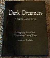 DARK DREAMERS: FACING THE MASTERS OF FEAR Gwinn/Wiater (eds) 1st  HC SIGNED X16