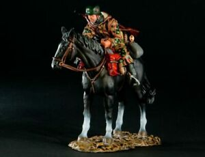 THOMAS GUNN WW2 SS010B German SS Cavalry Spring Patting Horse MIB