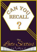 Can You Recall?-The Late Sixties/Dementia/Puzzle book