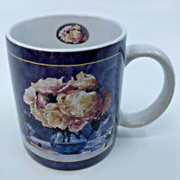 2001 Lang and Wise Porcelain Mug 2001 Wine & Roses Mary Kay Krell MKK #1 Collect
