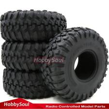 "4pcs 1/10 RC 2.2 Crawler Tires Soft 130mm Tyres Fit RC 4wd Axial RPM 2.2"" Wheels"