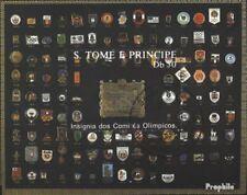 Sao Tome e Principe gestempeld 1988 Spelen Games `88