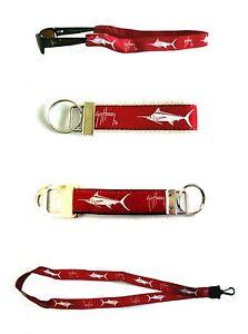 GUY HARVEY in U of Alabama Crimson Tide Colors Sunglass Holder Lanyard Key Chain