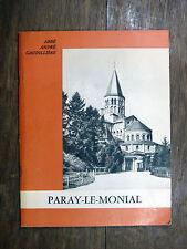 abbé André Gaudillière PARAY-LE-MONIAL Art Roman - Basilique PAUL CAZIN
