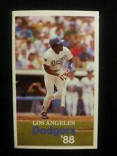 Los Angeles Dodgers MLB 1988 World Series Champion Schedule