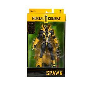"McFarlane Toys 7"" MORTAL KOMBAT GOLD LABEL (CURSE OF THE APOCALYPSE) Spawn"