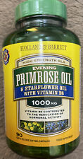 High Strength GLA EVENING PRIMROSE OIL 1000MG 90 Capsules Holland & Barrett
