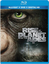 Rise of the Planet of the Apes (Blu-ray/DVD, 2011, 2-Disc Set, Includes...