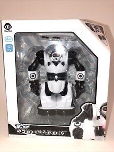 WowWee Robosapien RC Mini Edition Remote Control Robot Black White New