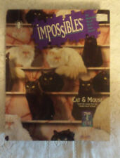 Bepuzzled Impossibles jigsaw puzzle 750 + 5 pieces Cat & Mouse 1994