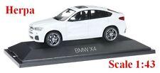 BMW X4 (F26) blanc minéral  - Herpa - Echelle 1/43