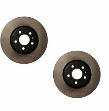 Audi Q5 2013-2015 Pair Set of 2 Front Vented Disc Brake Rotors OPparts 40554187