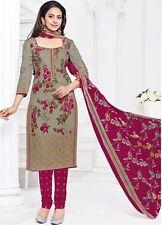 Elegant Cotton Designer Printed Unstitched Dress Material Salwar Suit .No PR325