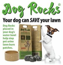 DOG ROCKS 200g - Water Feed Bowl Igneous Rock Stop Pet Urine Grass Burn Stone