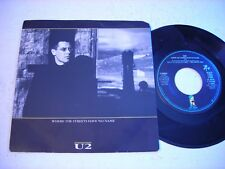 w PICTURE SLEEVE U2 Where the Streets Have No Name 1987 45rpm EP VG++