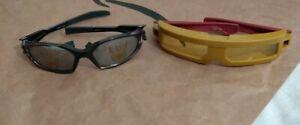 Transformers And Iron Man Kids Lil Character Superhero Shades Kid Sunglasses Vtg