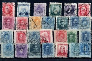 Old stamps of SPAIN  used collection