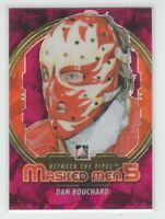[69887] 2012-13 BETWEEN THE PIPES MASKED MEN 5 RAINBOW DAN BOUCHARD #MM-03