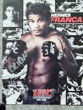 UFC HERMES FRANCA  8 1/2 X 11 OFFICIAL PHOTO COLLECTIBLE