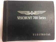 Viscount Type 700 Series Original Intruction Manual Electrical