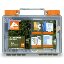 Ozark Trail Outdoor Equipment 205 Pieces First Aid Kit, Brand New!!
