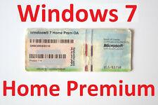 ✔ 32 64 Bit Original Windows 7 Home Premium Aktivierung Aufkleber Lizenz Key