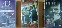 4 x VHS VIDEOS Bundle of Sweeney, Coronation ST 40th , Pitch Black ,Cracker