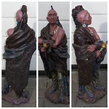 Grosse - Indianer - Figur - Skulpur - Statue - Dekofigur - Lebensecht - Krieger