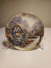 """Thomas Kinkade Monthly Collector Plate """"July"""" 1998"""