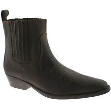 Wrangler Men's Cowboy 100% Leather Boots