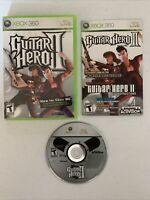 Guitar Hero II (Microsoft Xbox 360, 2007)