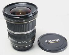 CANON EF-S 10-22mm F/3.5-4.5 USM lens for EOS 7D II T7i T6i T6s SL2 80D 70D etc