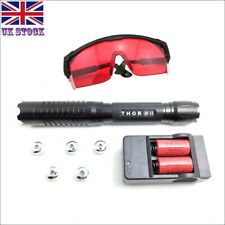 BQ6-C Thor M II 1MW 450nm Blue Laser Pointer Lazer Pen & Battery&Charger&Goggles