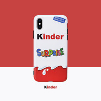 Kinder Surprise egg Phone case Cover For Apple iPhone XS Max XR X 8 7 Plus 6 6S