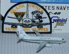 GEMINI JETS 1/400 bOEING 737 / C-40 US NAVY + Patches