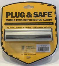 Plug & Safe PS10 Portable Sensor Alarm,silver