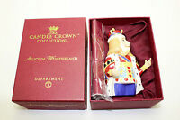 Department 56 Candle Crown Collection Alice in Wonderland King of Hearts Figure