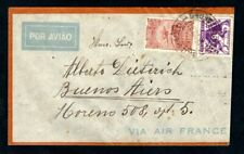 Brazil - 1934 Airmail Cover to Buenos Aires via Air France