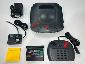 Atari Jaguar Complete System Console with Controller, OEM Power/Video, Game #4