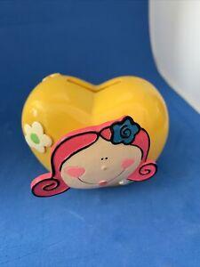 Cute Ceramic Kids Novelty  Money Box Piggy Bank