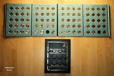 2007-2016 Presidential $1 PD 78 Coin COMPLETE Uncirculated Set wWhitman Folder