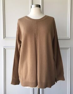 | COUNTRY ROAD | trenery wool blend dolman pullover knit camel | SIZE:M,L,XL,XXL