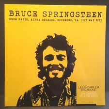 Bruce Springsteen - Live in VA 1973 SEALED NEW! Import Yellow LP - FM broadcast