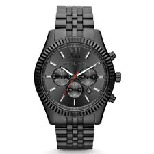Men's Watch Michael Kors MK8320 Lexington Casual Watches Quartz Black-Tone