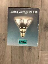PAR38 Lamp Bulb 120watt 240v ES E27 Clear FLOOD Crompton PAR 38